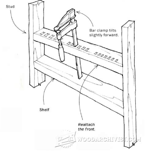 how to build a pipe l f cl storage rack woodarchivist