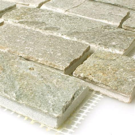 slate mosaic tiles light beige ebay