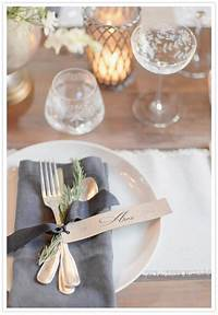 place setting ideas Rustic modern wedding inspiration | Weddings | Pinterest | Wedding, Wedding table and Wedding ...