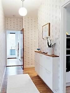modernen flur gestalten 80 inspirierende ideen With balkon teppich mit tapete flur