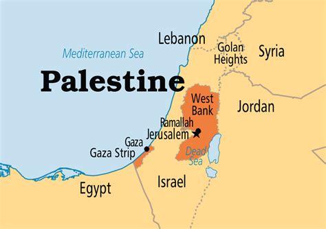world map palestine