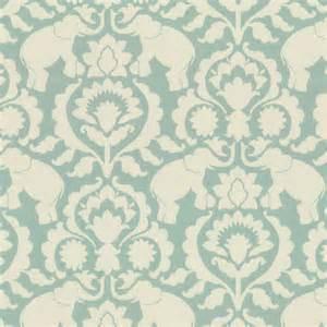 designer fabrics damask aqua blue elephant fabric cirque du scroll aqua foam loom decor