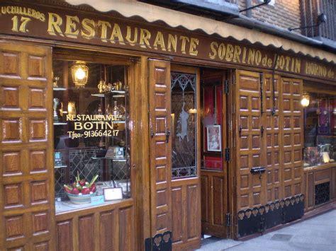 casa cuisine travel with me casa botín madrid s oldest