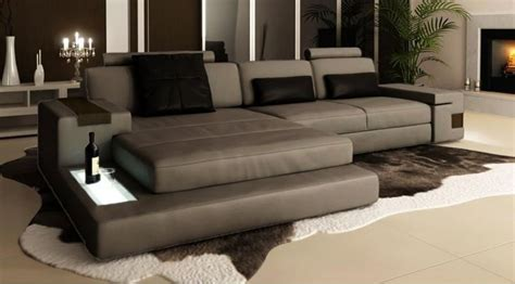 canape cuir design contemporain canapé d 39 angle en cuir design avignon