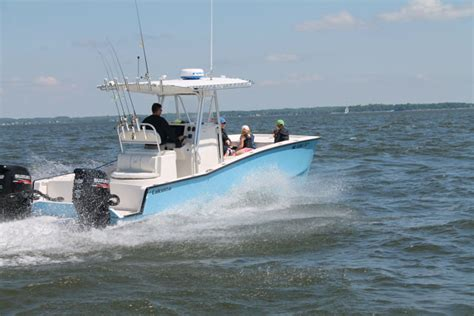 Lobster Boat No Limits by Calcutta 263 Cat On The Attack Boats