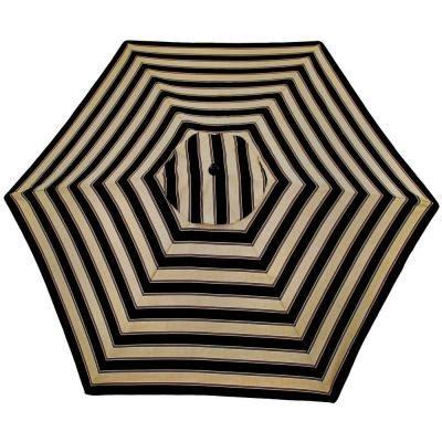 outdoor black white stripe umbrella home ideas