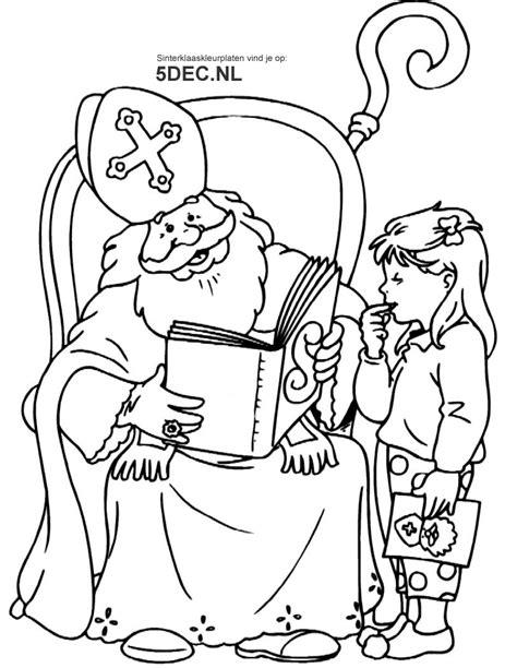 Kleurplaat Sint En Iet by Sinterklaas Boek Kleurplaat Krijg Duizenden Kleurenfoto