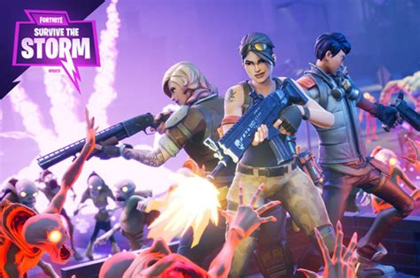 fortnite survive  storm  update  patch notes