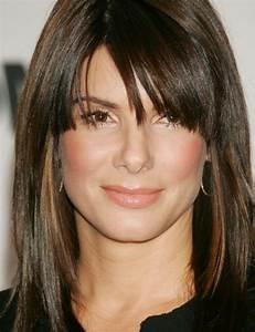 Coupe Cheveux Visage Ovale : coiffure visage ovale avec frange ~ Melissatoandfro.com Idées de Décoration