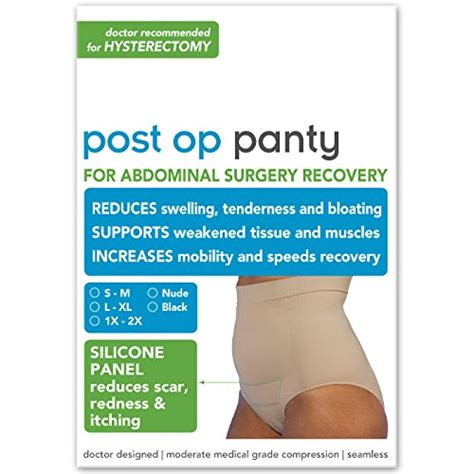 Post Op Panty for Hysterectomy Recovery