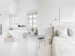 Deco Chambre Blanche : chambre ambiance blanche 231728 la ~ Zukunftsfamilie.com Idées de Décoration