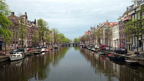 The Charming Canals Of Beautiful Amsterdam Netherlands