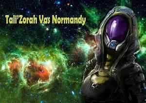 Tali Zorah Vas Normandy Wallpaper