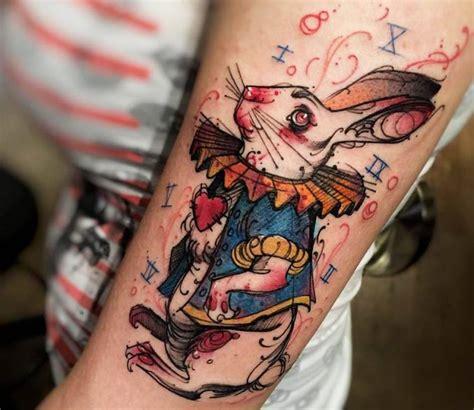 inspirational easter bunny tattoo ideas  mark
