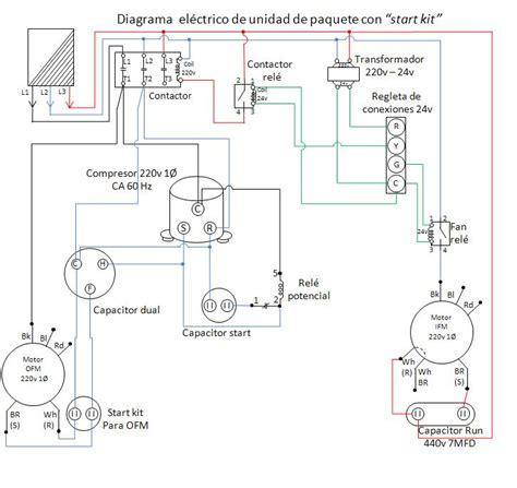 manual de diagramas y conexiones en aire acondicionado y refrigeraci 243 n