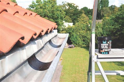 dakgoot reparatie bison dakgoot repareren met rubber seal voordemakers nl