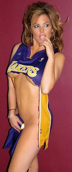 beauty babes nba babes tipoff  los angeles lakers