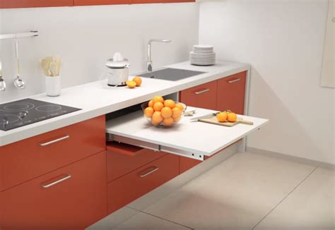 kitchen transformables pull  kitchen tables range