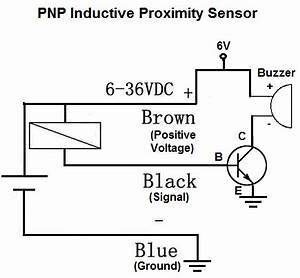 how to build a pnp inductive proximity sensor circuit With relay switch circuit diagram besides 3 wire proximity sensor