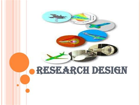 research and design research design
