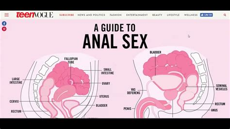 Teen Vogue Publishes A Guide To Anal Sex Are Your