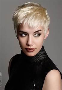 Coiffure Blonde Courte : coupe courte effil e destructur e ~ Melissatoandfro.com Idées de Décoration