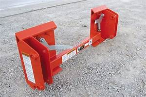 Kubota La350 Front End Loaders To Skid Steer Quick Attach