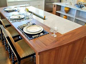 Unique kitchen countertops pictures ideas from hgtv hgtv for Unique countertops for kitchen