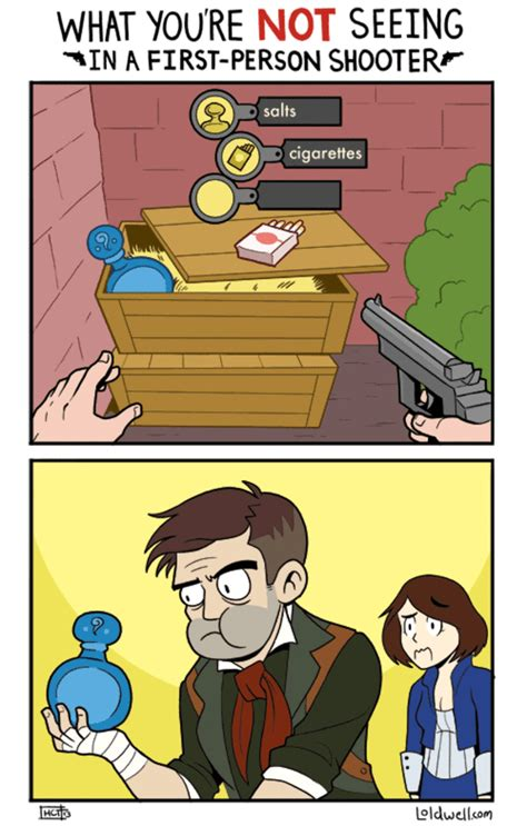 Video Game Logic Memes - what you re not seeing video game logic know your meme