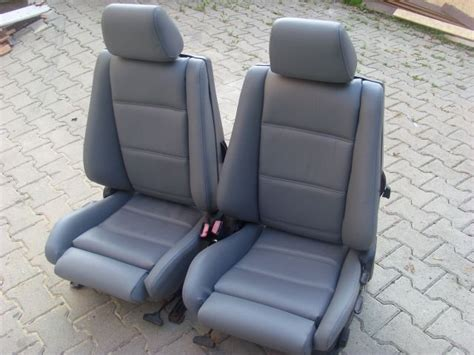Bmw E30 Seats by Bmw E30 Seat Covers Nappa Leather Ebay
