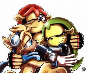 sonic comics and universe images .:One Happy Family:. HD ...