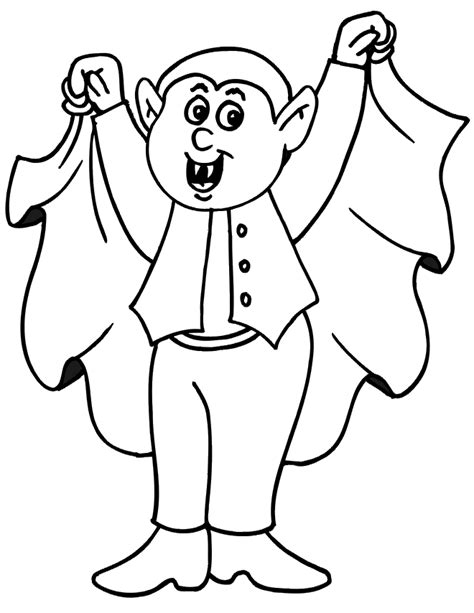 vampire coloring pages human blood sucking kids