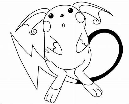 Pokemon Coloring Pages Template Templates Colouring Printable