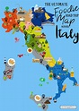 The Ultimate Map Of What To Eat In Italy And Where! | Hand ...
