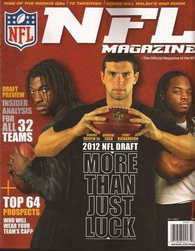 NFL Magazine April 2012 | American football, Nfl, American