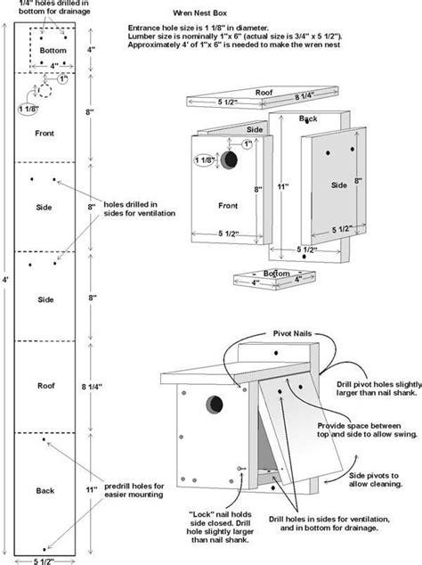 Cute Easy Bird House Plan New Home Plans Design