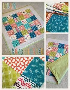 Babydecke Selber Machen : krabbel babydecke im patchwork style lybstes ~ Lizthompson.info Haus und Dekorationen