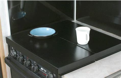bathroom sink cover for extra counter space amazon com camco rv stove top cover universal fit