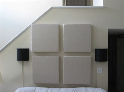 soundproofing wall board diy acoustic panels tutorial i d use old t shirts for the fabric soundproofing pinterest