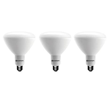 Home Depot Led Lights by Ecosmart 75w Equivalent Daylight 5 000k A19 Led Light
