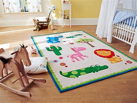 tapis de bebe tapis pour chambre de b 233 b 233 beige zoo esprit home
