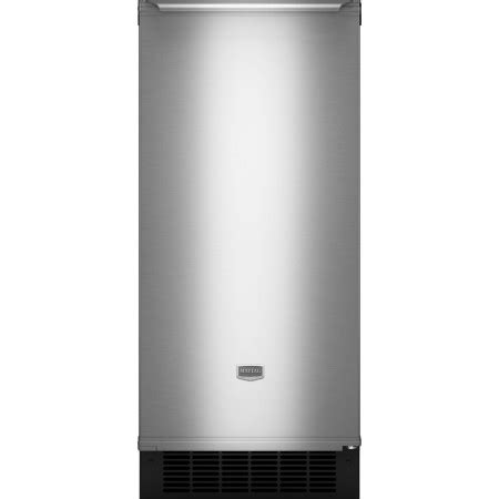 maytag mimyrs  undercounter ice maker   lbs ice storage  lbs daily production