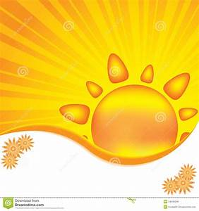 Abstract Sun Design Background Royalty Free Stock Image ...