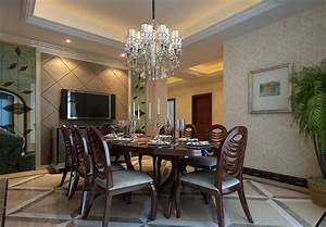 Dining Room Chandeliers for Appealing Dining Room Interior