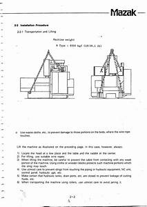 Mazak Vqc 20  50b Lifting Points Question