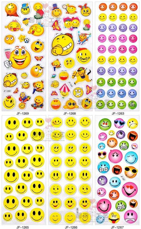 100 Sheets In A Set Mixed Kids Cute Stickers Kids Diy