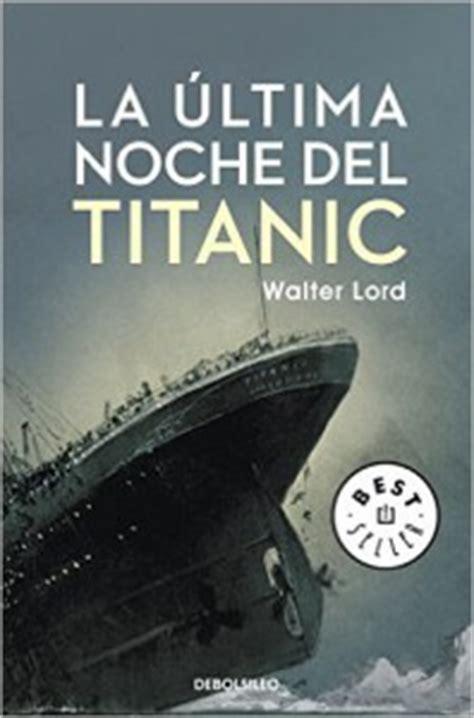 11 libros sobre el titanic