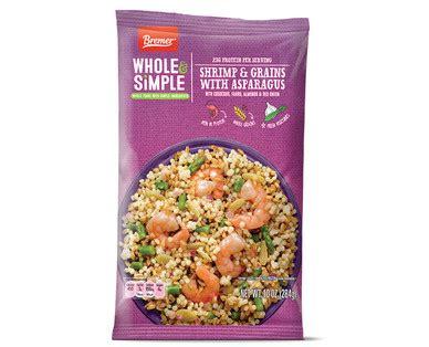 bremer  simple shrimp grains single serve meals