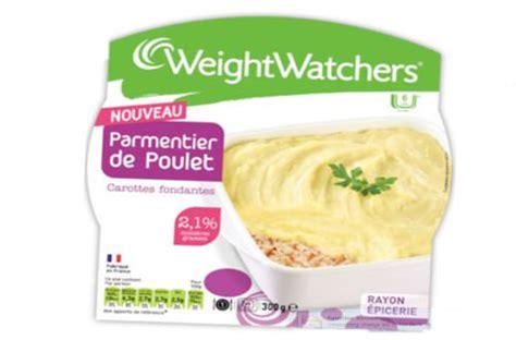 plat cuisiné weight watcher parmentier weight watchers