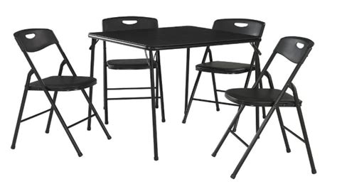lowest price on cosco 5 folding table and chair